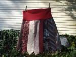 Handmade tie skirt at Etsy