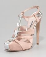Hanna's Miu Miu shoes at Neiman Marcus