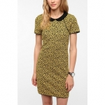 Hannas leopard dress at Urban Outfitters