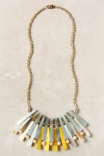 Hanna's necklace at Anthropologie at Anthropologie
