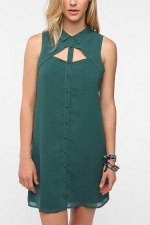 Hanna's shirt in green at Urban Outfitters