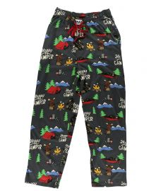 Happy Camper PJ Pant by Lazy One at Amazon