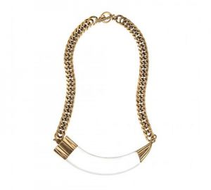 Hark Horn Collar Necklace at Jenny Bird