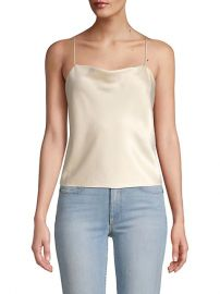Harmon Drapey Slip Tank at Saks Fifth Avenue