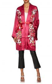 Harmony Floral Silk Long Kimono by Alice Archery at Barneys Warehouse