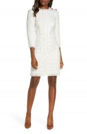 Harper Rose Long Sleeve Tweed Sheath Dress  Regular  amp  Petite    Nordstrom at Nordstrom