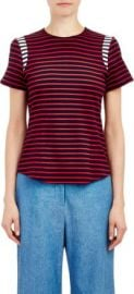Harvey Faircloth Sailor Stripe T-Shirt at Barneys