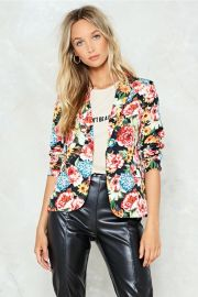 Hate to See You Grow Floral Blazer by Nasty Gal  at Nasty Gal