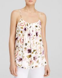 Haute Hippie Cami - Emily Floral Pleat Front Silk at Bloomingdales
