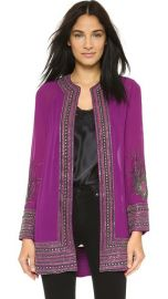 Haute Hippie Embellished Feather Cloak at Shopbop