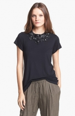 Haute Hippie Embellished Tee at Nordstrom