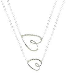 Have a Heart Necklace at Peggy Li