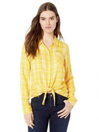 Hayley Tie Front Shirt by Sanctuary at Amazon
