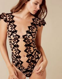 Haylie Bodysuit at Agent Provocateur