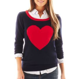 Heart Sweater at JC Penney