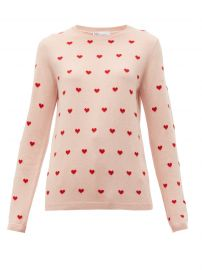 Heart print sweater at Matches