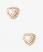 Heart studs like Magnolias at Forever 21