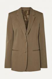 Helmut Lang - Layered wool-twill blazer at Net A Porter