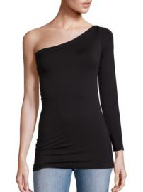 Helmut Lang - One-Shoulder Seamless Tee at Saks Fifth Avenue