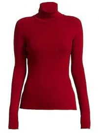 Helmut Lang - Rib-Knit Turtleneck Sweater at Saks Fifth Avenue