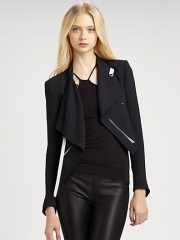Helmut Lang - Sugar Cropped Jacket at Saks Fifth Avenue