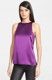 Helmut Lang   x27 Mere  x27  Silk Tank   Nordstrom at Nordstrom