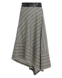 Helmut Lang Basketweave Midi Skirt at Intermix