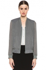 Helmut Lang Breeze Bomber Jacket at Forward by Elyse Walker