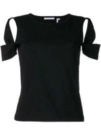 Helmut Lang Cutout T-shirt - Farfetch at Farfetch