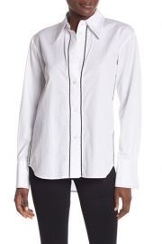 Helmut Lang Embroidered Shirt at Nordstrom Rack