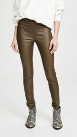 Helmut Lang Leather Leggings at Shopbop