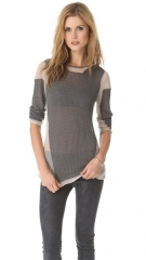 Helmut Lang Modern Lace Pullover at Shopbop