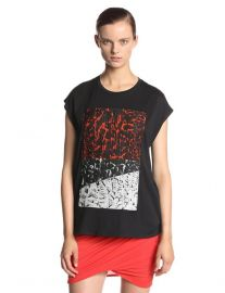 Helmut Lang Printed Top at Amazon