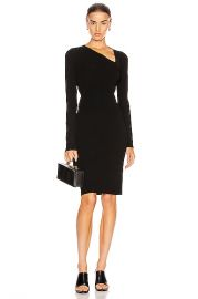Helmut Lang Raglan Dress in Black   FWRD at Forward