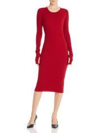 Helmut Lang Ribbed Midi Dress Women - Bloomingdale s at Bloomingdales