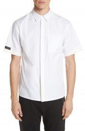 Helmut Lang Short Sleeve Shirt at Nordstrom