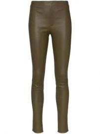 Helmut Lang Skinny Leather Leggings - Farfetch at Farfetch