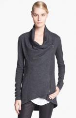 Helmut Lang Sonar Shawl Collar Wool Jacket in Grey at Nordstrom