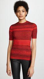 Helmut Lang Stripe Crew Neck Sweater at Shopbop