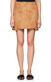 Helmut Lang Suede Miniskirt at Barneys Warehouse