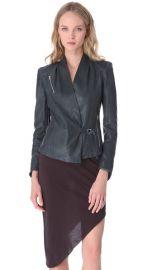 Helmut Lang Supple Leather Jacket at Shopbop
