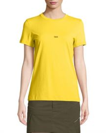 Helmut Lang Taxi Short-Sleeve Graphic Tee at Neiman Marcus