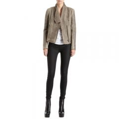 Helmut Lang Weathered Shearling Jacket at Barneys