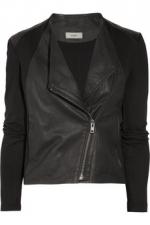 Helmut Lang leather jacket at Net A Porter
