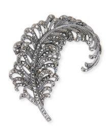 Hem Feather Embellished Hair Pin at Bergdorf Goodman