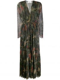 Hendrix Pleated Maxi Dress by BaSh at Farfetch