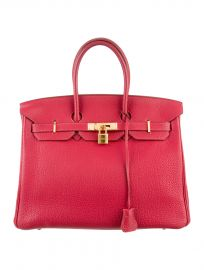 Hermes Birkin Bag in Pink at The Real Real