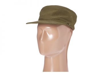 Herschel Supply Co  Guard Cap Army Herringbone at 6pm