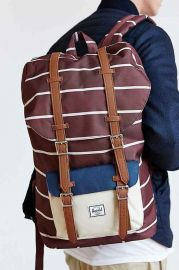 Hershel Supply Co Little America Rust Stripe Backpack at Urban Outfitters