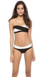 Herve Leger Erika Bandeau Bikini Set at Shopbop
